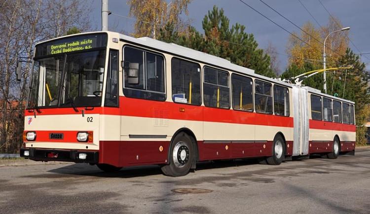 Budějcký trolejbus se vrátil do roku 1991