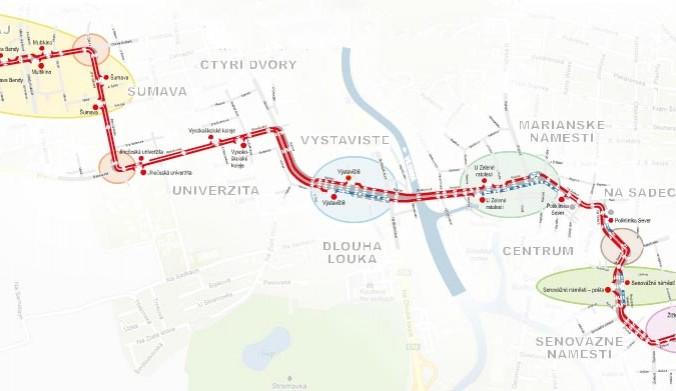 Skutečně uleví Koridor MHD dopravě v Budějcích?