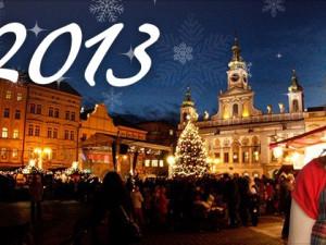 Budějcká Drbna a spol. vám přejí šťastný nový rok 2013