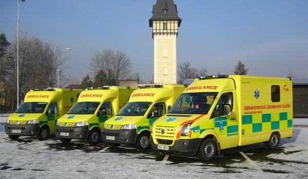 Záchranářům vloni opět přibylo výjezdů k pacientům