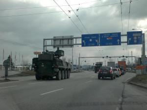 Vojenské transportéry se ve městě můžou objevit při cvičení