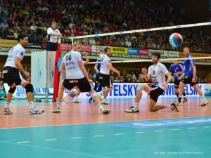 Obhajoba titulu nevyšla, volejbalovým mistrem Ostrava!