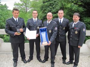 Jihočeští policisté byli oceněni na Pražském hradě