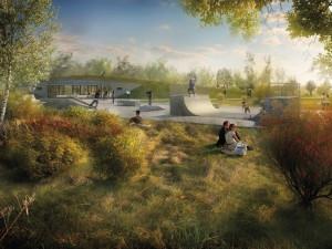 Ke stávajícím budějckým parkům přibude nový areál