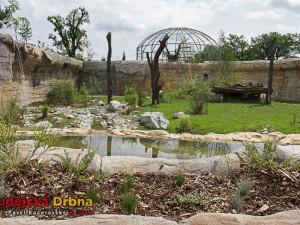V areálu Zoo Ohrada vyrostla obydlí pro další zvířata