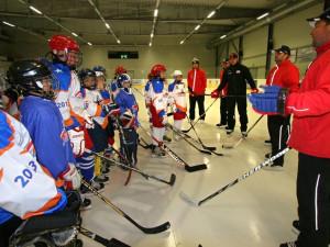 Hokejové hvězdy si vychovávají své nástupce