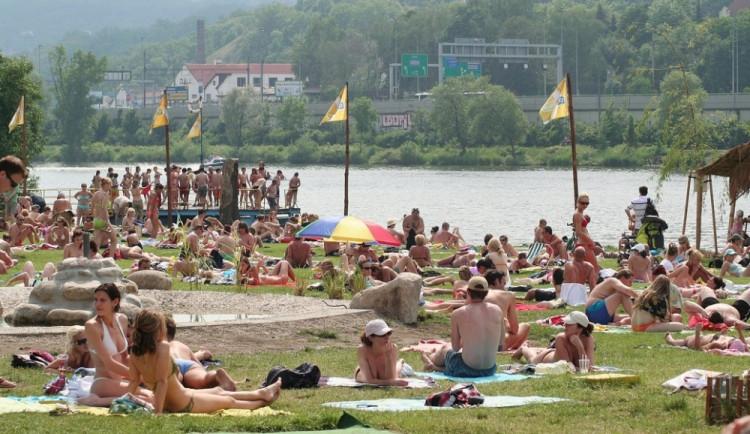 Nejčistější voda ke koupání je na pláži v Horní Plané