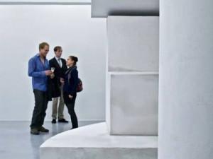 Dominik Lang zboural zdi v budějckém Domě umění