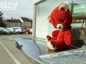Víte, že parkoviště na Mariánském hlídá medvěd?