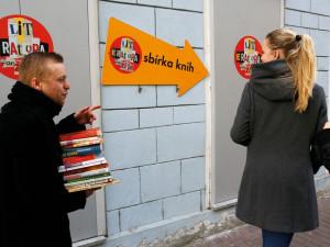 Literární festival nabídne sběr knih i divadlo bezdomovců