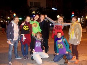 Studentské divadlo zářilo na festivalu v Řecku