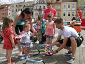 Děti na zábavné stezce podpoří nemocné rakovinou
