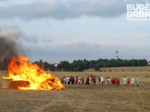 U Borovan bude o víkendu hořet slaměný hrad