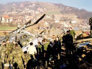 Přežil vlastní smrt. Pád vrtulníku s českými vojáky stihl Jiří Cempírek natočit na kameru