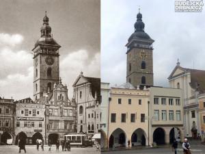 Když ještě na náměstí stával novorenesanční palác Záložny českobudějovické