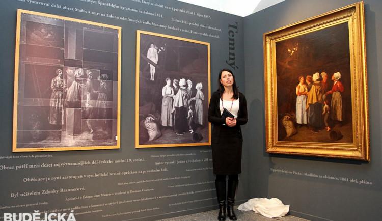 Sbírku Alšovy jihočeské galerie rozšířil sto padesát let ztracený obraz světového významu