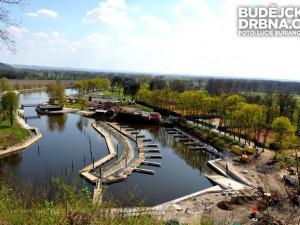 Nový přístav v Hluboké se v pátek otevře pro rekreační lodě