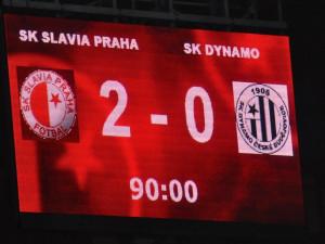 V dalším záchranářském souboji Dynamo neskórovalo a na Slavii prohrálo