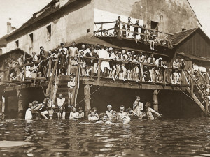 Sokolská plovárna shořela na konci 30. let minulého století, pachatel nebyl zjištěn