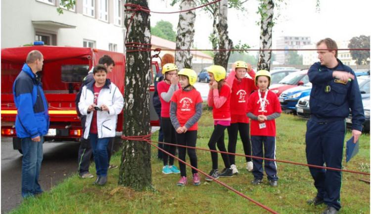 Soutěž dětských hasičů ovládli Borovanští Soptíci a Hasičky Zhoř