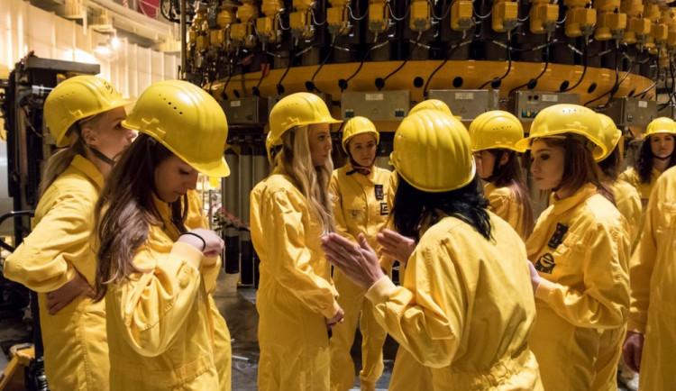 Finalistky soutěže Maturantka Roku 2015 navštívily elektrárnu Temelín