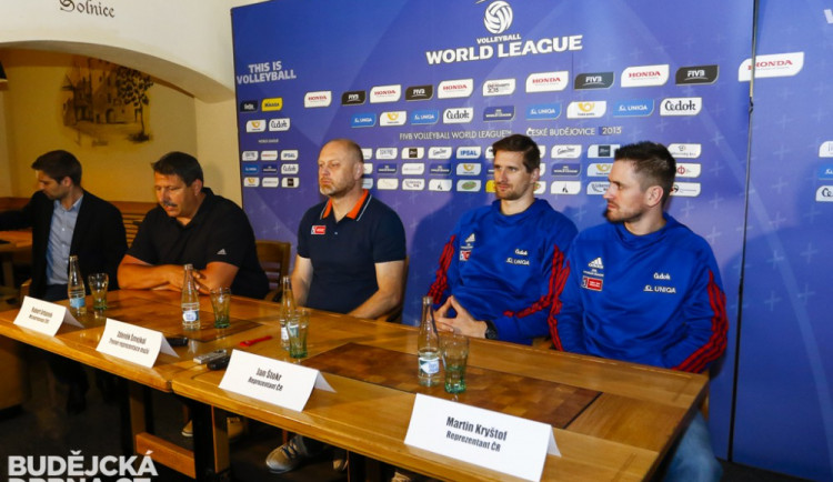 Národní tým přijel do Českých Budějovic a chce Francii oplatit dvě porážky