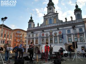 Tarapaca jazz vnesli do centra Budějc atmosféru přímořských měst