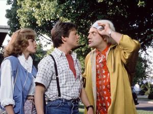 GLOSA: Uteklo to jako voda... Dnešek je dnem, kdy Marty McFly přicestoval do budoucnosti