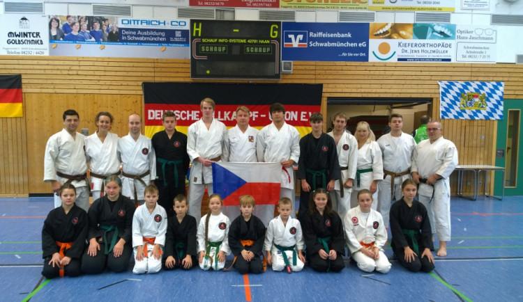 Jihočeši uspěli na mistrovství Allkampf-Jitsu v Německu
