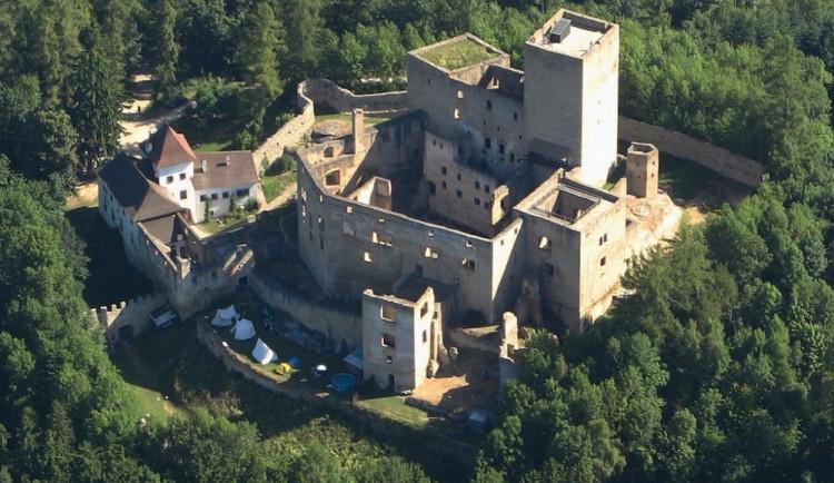 Na hradě Landštejn ukončí sezónu strašidla