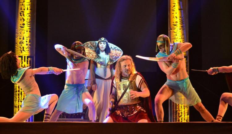 SOUTĚŽ: Nejúspěšnější český muzikál Kleopatra míří do Budějc