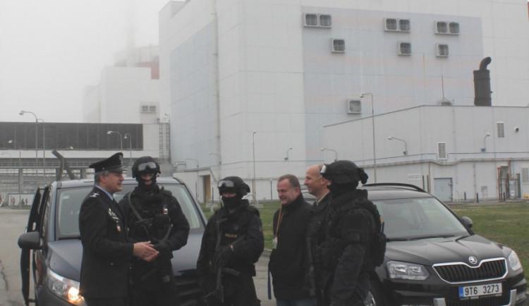 Nejpřesnější policejní střelec světa hlídá Temelín