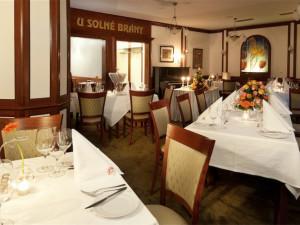 Hotel U Solné brány nabízí speciální valentýnské degustační menu