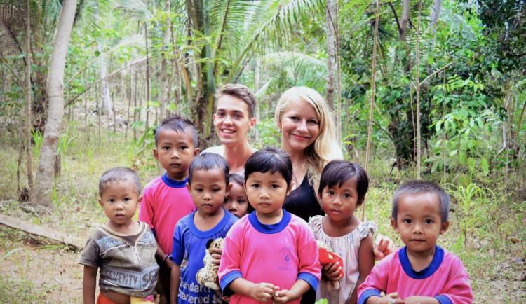 Dobrovolnictví v rozvojových zemích je návykové. Když jednou začnete, už nedokážete přestat