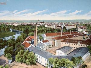 Žluté tužky a černá tuha značky Koh-i-noor zřejmě odrážely vztah k Vídni