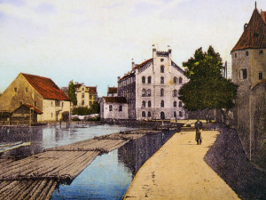 Vory se plavily za klášterem nejméně od roku 1316