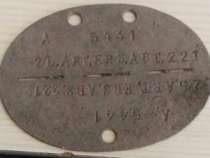 Nalezená známka odkrývá ústup Němců před Rudou armádou