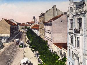 Schmerlingovou třídou vedla obchodní cesta na Vídeň