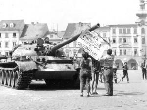 Před 48 lety přijela do Budějc sovětská vojska
