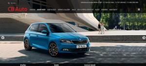 CB Auto odhaluje nový webdesign
