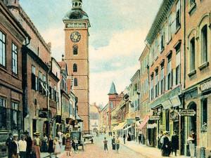 Podniky ve Sterneckově ulici musely často měnit razítka. Každou chvíli sídlily v jiné ulici