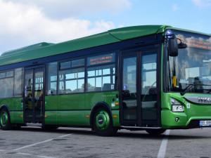 Dopravní podnik otestoval autobus s plynovým pohonem