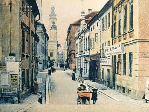 V okolí Biskupské ulice bývalo dříve velké množství hospod