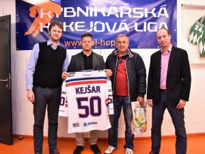 Rybníkářská hokejová liga podepsala smlouvu s BPA a ocenila 1000. registrovaného hráče