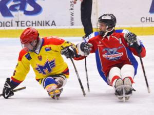 Sledge hokejisty Motoru čekají další dva domácí zápasy