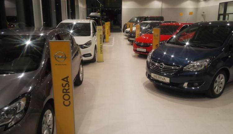 Nový showroom Opel na Nemanické