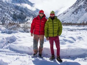 Sprojektem Pod Plejádami se dva Budějčáci vydali na Ťan-Šan. A založili tam symbolický český ledovec