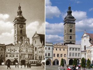 DRBNA HISTORIČKA: Budějcká Černá věž zblízka