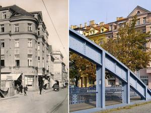 DRBNA HISTORIČKA: Divadelní, Zlatý most a Savoy. Nebo nepatřičně Bajkal?