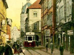 DRBNA HISTORIČKA: V Broukárně v Divadelní ulici zapíjel Roden starší Rodena mladšího